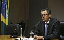 O Ministro da Fazenda, Eduardo Guardia