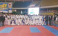 Federação comemora resultado inédito com 24 medalhas no Brasileiro de Karatê