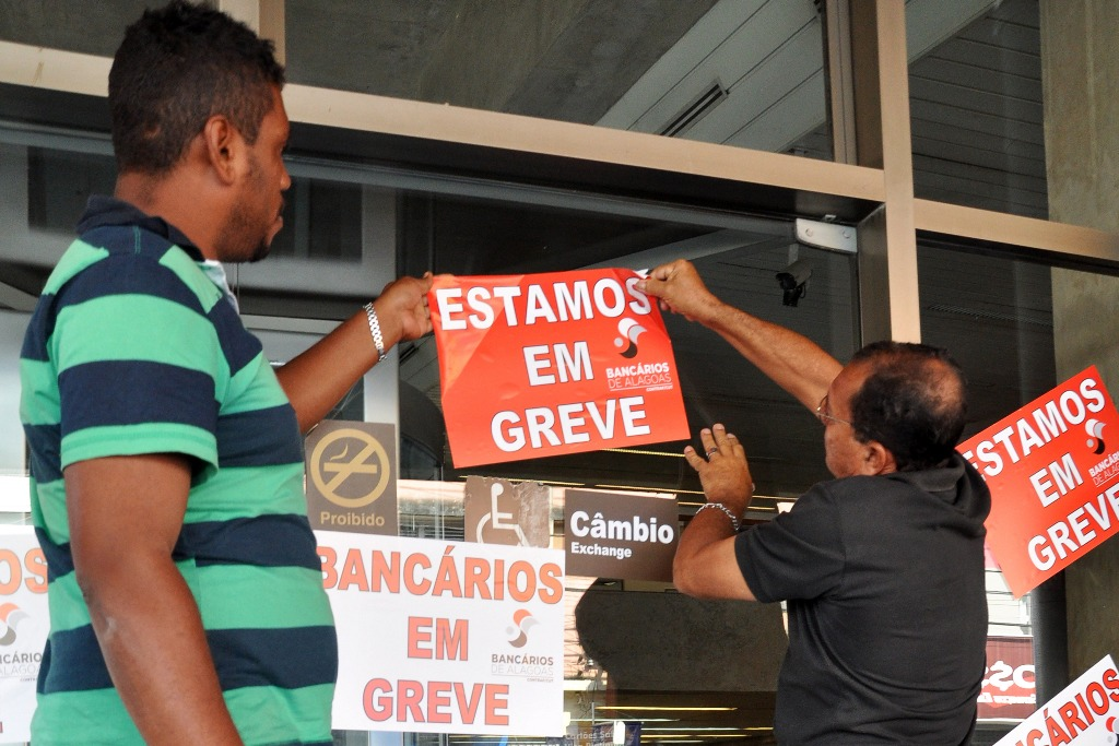 Bancos abrem uma hora mais tarde nesta sexta; ato faz parte da campanha salarial