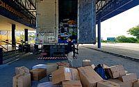 Vídeo: PRF apreende R$ 60 mil em mercadorias falsificadas em Canapi