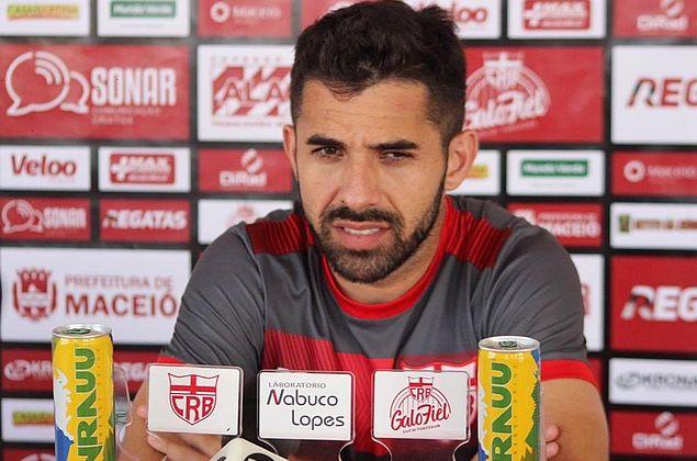 Lucas Abreu não desiste de acesso e diz que CRB vai acreditar até o fim