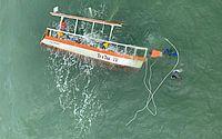 Marinheiro sabia de infiltração em catamarã e não orientou sobre salva-vidas, diz delegado