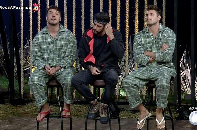 Guilherme Leão, Diego Grossi e Lucas Viana são indicados para a roça