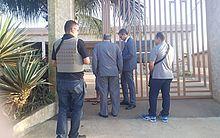Cumprimento de mandado em Taquarana