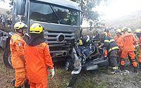 É grave o estado de saúde da mulher resgatada em acidente, em Tanque D'Arca