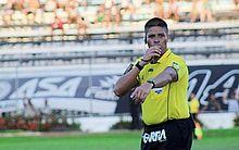 O árbitro alagoano é suspeito de participar de um esquema de manipulação de resultados do Campeonato Paraibano de Futebol.