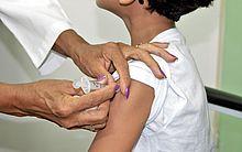 Vacinação contra meningite