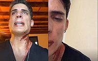 Tiago Ramos, namorado da mãe de Neymar, diz em vídeo que foi esfaqueado em Cancún