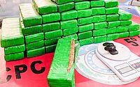Justiça mantém prisão de motorista de app flagrado com mais de 34 kg de droga em Maceió