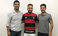 Willian Farias assina contrato com o Sport e vai defender clube na Série B