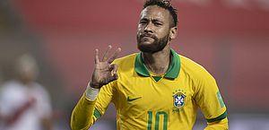 Seleção brasileira continua em terceiro no ranking de seleções da Fifa