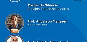 Professores lançam livro sobre o Silêncio em live da UFAL