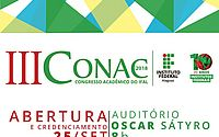 Conac movimenta Campus do Ifal Maceió a partir desta terça-feira (25)