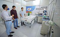 Inaugurado em 22 de maio, Hospital de Campanha Dr Celso Tavares contou com leitos de estabilização