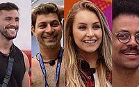 Arthur, Caio, Carla e João estão no paredão falso do BBB