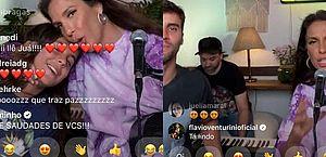Ivete Sangalo canta músicas com a família em live e depois 'expulsa' filho