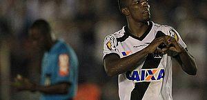 Thalles comemora um dos seus 36 gols pelo Vasco