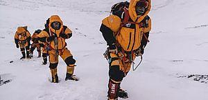 Alpinista perdido ignora ligação de resgate por ser de número desconhecido