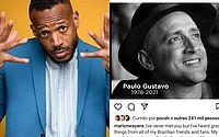 Marlon Wayans, ator de 'As Branquelas' homenageia Paulo Gustavo