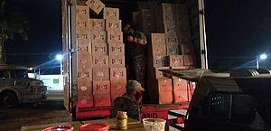 Operação da Sefaz apreende R$ 35 mil em biscoitos e roupas no Pilar