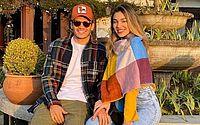 Jogador do Palmeiras assume namoro com irmã de Luan Santana