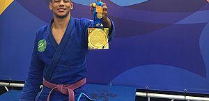 Alagoano vence campeonato europeu de jiu-jitsu