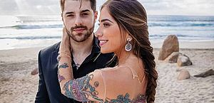 Vídeo: Alok e Romana Novais se casam aos pés do Cristo Redentor, no Rio