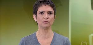Sandra Annenberg chora na despedida do Jornal Hoje; Maju assume telejornal