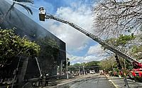 Incêndio atinge o Tribunal de Justiça em Fortaleza