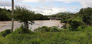 CPRM registra cota de alerta no rio Mundaú, em Alagoas