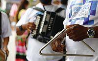 Trios de São João animam pontos de vacinação neste feriado em Maceió