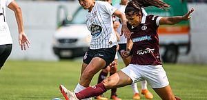 Ferroviária e Corinthians empatam no primeiro jogo da final feminina