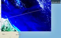 Satélite brasileiro detecta mancha de óleo e amplia cena do vazamento no RN