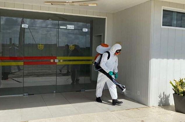 Com protocolos no CT, CRB se adapta aos treinos em período de pandemia