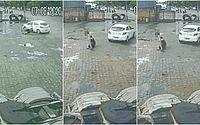 Homem arremessado por carro na Durval de Góes Monteiro faz relato do acidente e diz que 'pensou em tudo na vida'