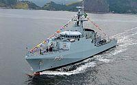 Navio Patrulha da Marinha estará aberto a visitação neste sábado