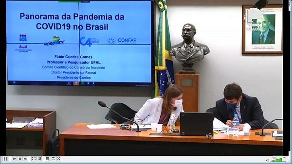 Alagoas representou o Nordeste em audiência pública sobre Covid-19, na Câmara Federal