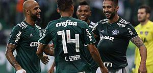 Palmeiras tem 96% de chances de título e briga por Libertadores esquenta