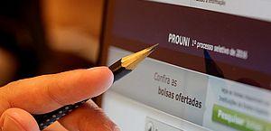 Prouni: inscrição na lista de espera termina nesta terça-feira