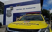 Suspeitos foram levados para a Central I, no Pinheiro
