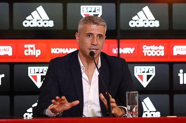 Hernán Crespo quer São Paulo protagonista sob seu comando
