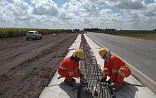 Trecho da obra conta com 32 quilômetros de duplicação entre os municípios de Campo Alegre e Arapiraca