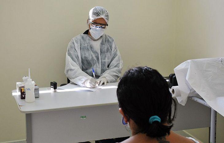 Atendimento é direcionado a pacientes com sintomas leves