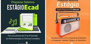 PSCOM seleciona estagiários para Rádio Pajuçara e Ecad; veja como se inscrever