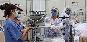 Ministério da Saúde já está desabilitando leitos de terapia intensiva