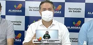 Renan Filho: 'Não entendo quem trata com desdém a vida alheia. Não há espaço para flexibilizar a importância de uma vida'