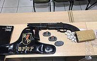 Homem é preso com droga e arma utilizada em homicídio no Ouro Preto
