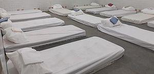 Abrigo no Centro vai receber até 200 pessoas