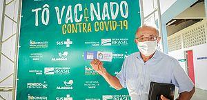 População idosa de Penedo tem a melhor cobertura vacinal contra Covid entre as grandes cidades de AL