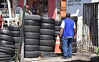 Recolhimento de pneus integra ações de combate ao Aedes aegypti em Maceió